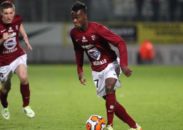 OL –  FC Metz : Maxwel Cornet, reculer pour mieux sauter