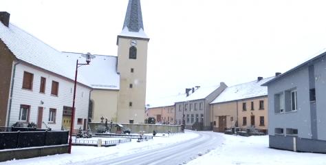 Météo : chutes de neige sur toute la Moselle !