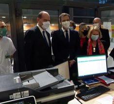 Vaccination : Castex et Véran à Metz pour l'ouverture de la plateforme d'appel