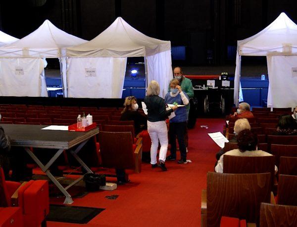Thionville : 1 000 vaccinations réalisées ce week-end au théâtre