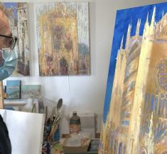 Culture : un artiste britannique s'épanouit en Moselle