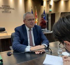 Présidence de la Moselle : Patrick Weiten brigue un nouveau mandat