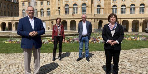 Départementales : Patrick Weiten part en reconquête avec Rachel Zirovnik