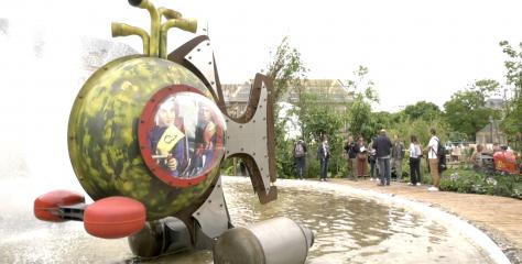 Constellations de Metz : l'ode à la flânerie du parcours Art & Jardins